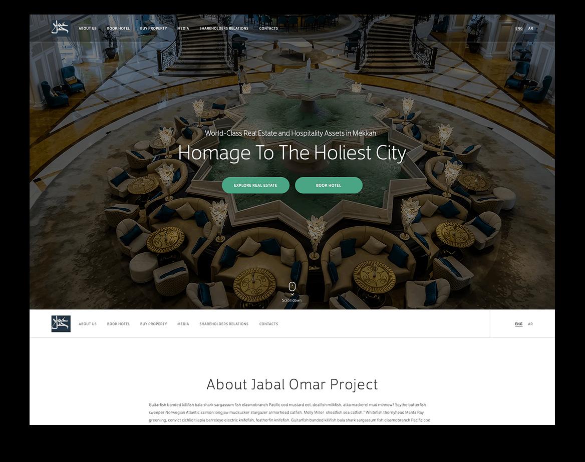 JODC Corporate Website Development