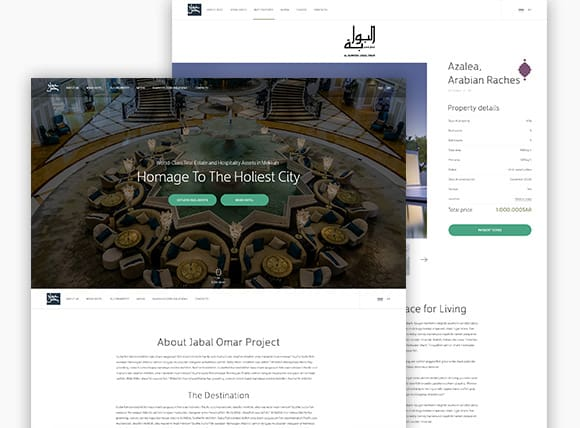 Jabal Omar Corporate Website