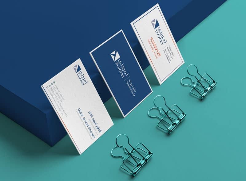 هوية العلامة التجارية لشركة تمويلي