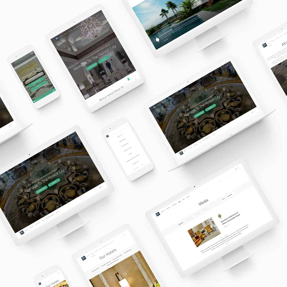 Web design service | Website Mock Ups